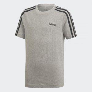 Футболка Essentials 3-Stripes Performance adidas. Цвет: черный