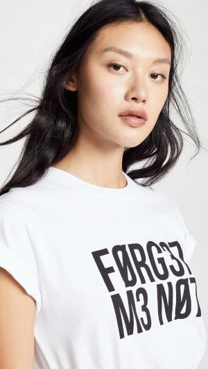 Forget Me Not Tee RED Valentino