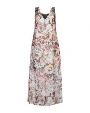 Длинное платье KARTIKA. Цвет: слоновая кость