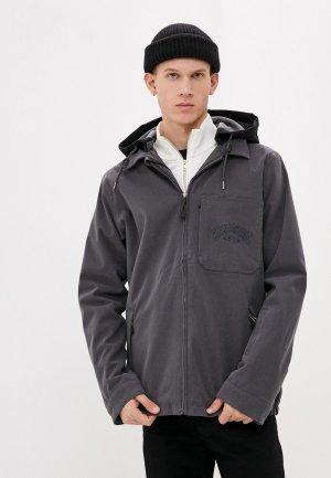 Куртка сноубордическая Billabong FASTPLANT. Цвет: серый