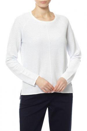 Пуловер Gerry Weber. Цвет: ecru, white, blue stripes