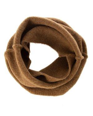 Шарф UK75F19 UNI коричневый Isabel Benenato. Цвет: коричневый