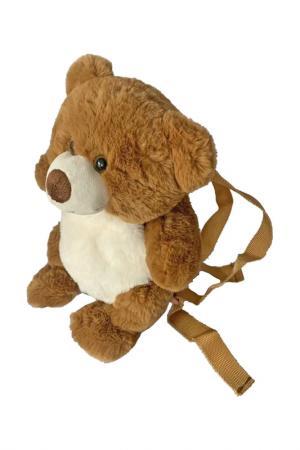 Рюкзак Мишка Fluffy Family. Цвет: коричневый