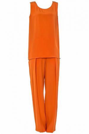 Костюм Costume National. Цвет: оранжевый