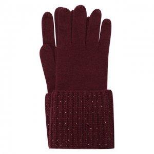 Кашемировые перчатки William Sharp. Цвет: красный