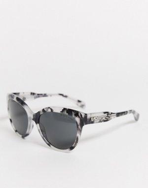 Солнцезащитные очки с узором MK2083-Черный Michael Kors