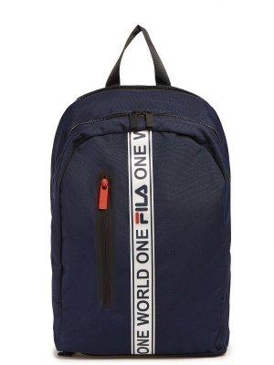 Рюкзак FILA. Цвет: темно-синий