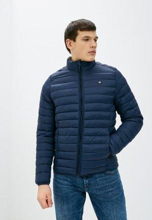 Куртка утепленная Blend. Цвет: синий