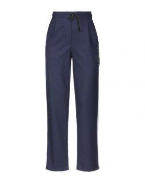 Повседневные брюки BRAND UNIQUE. Цвет: темно-синий