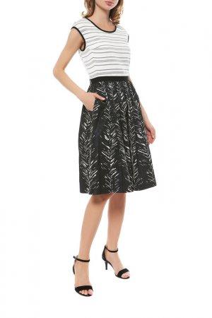 Платье BEATRICE. Цвет: черный