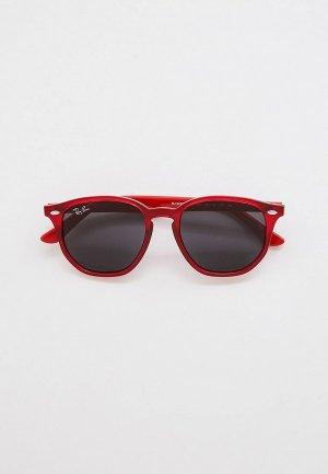 Очки солнцезащитные Ray-Ban® RJ9070S 707787. Цвет: красный