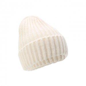Шерстяная шапка Bilancioni. Цвет: белый