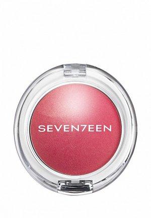 Румяна Seventeen перламутровые PEARL BLUSH POWDER т.05 персиковый, 7.5 г. Цвет: розовый