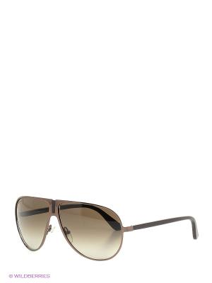 Солнцезащитные очки SF 103SL 208 Salvatore Ferragamo. Цвет: коричневый