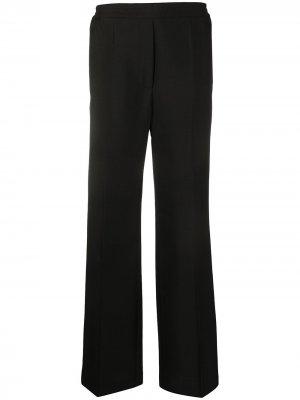 Спортивные брюки прямого кроя Acne Studios. Цвет: черный