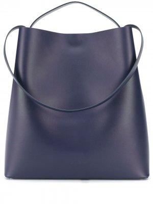 Большая сумка на плечо Sac Aesther Ekme. Цвет: синий