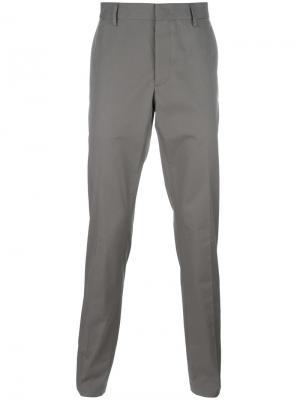 Классические брюки Lanvin. Цвет: телесный