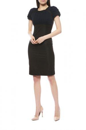 Платье Anna Rachele. Цвет: черный