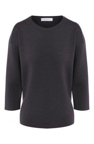 Шерстяной пуловер Cruciani. Цвет: темно-серый