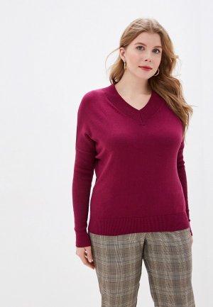 Пуловер MaryTes. Цвет: фиолетовый
