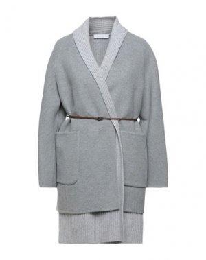 Пальто FABIANA FILIPPI. Цвет: светло-серый