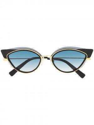 Солнцезащитные очки в оправе кошачий глаз Dsquared2 Eyewear. Цвет: черный