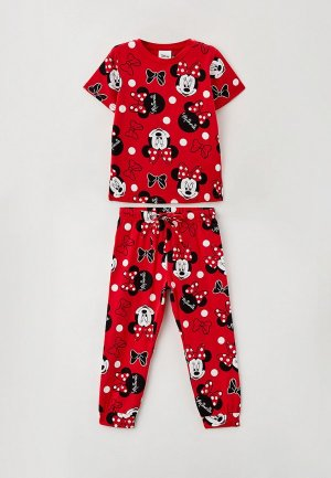 Пижама PlayToday. Цвет: красный