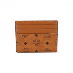 Футляр для кредитных карт MCM. Цвет: коричневый