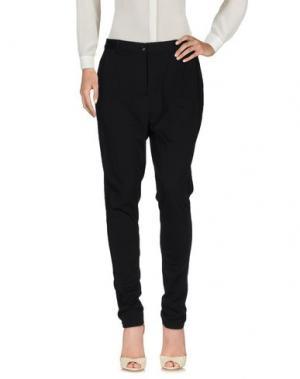 Повседневные брюки KAFFE. Цвет: черный