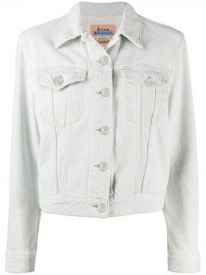 Джинсовая куртка 1999-го года Acne Studios. Цвет: синий