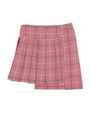 Детская юбка MARNI. Цвет: красный