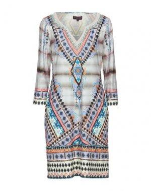 Короткое платье HALE BOB. Цвет: слоновая кость