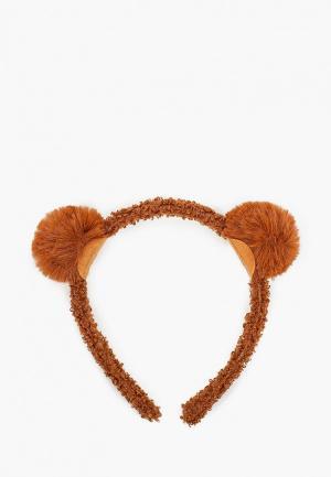 Ободок Mango Kids - BEAR7. Цвет: коричневый