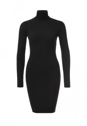 Платье Wolford Merino Rib Dress. Цвет: черный