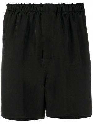 Беговые шорты Ann Demeulemeester. Цвет: коричневый
