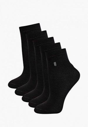 Носки 5 пар Rusocks. Цвет: черный
