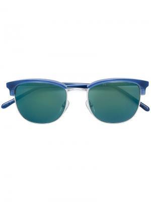 Солнцезащитные очки Terrazzo Retrosuperfuture. Цвет: синий