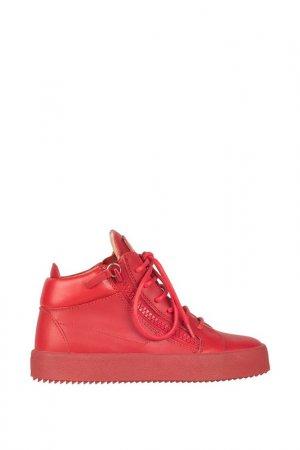 Кроссовки Giuseppe Zanotti. Цвет: красный