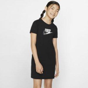 Платье для девочек школьного возраста Sportswear - Черный Nike