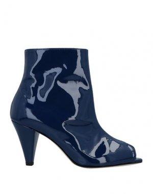 Полусапоги и высокие ботинки ÂME. Цвет: синий