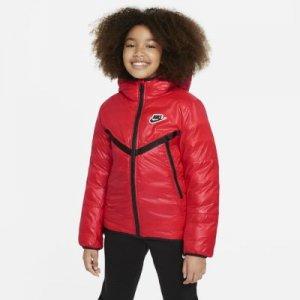 Куртка с синтетическим утеплителем и водоотталкивающим покрытием для школьников Sportswear - Красный Nike