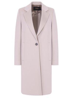 Пальто классическое шерстяное LES COPAINS