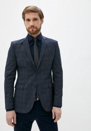 Пиджак Al Franco. Цвет: серый