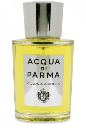 Одеколон Colonia Assoluta Acqua di Parma. Цвет: бесцветный