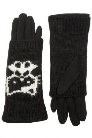 Перчатки Stella. Цвет: черный