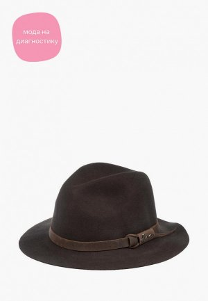 Шляпа Herman. Цвет: коричневый