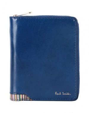 Бумажник PAUL SMITH. Цвет: синий