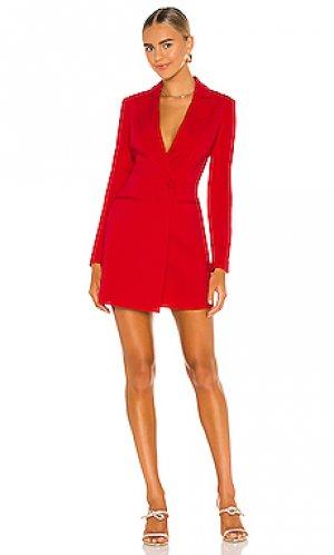 Платье ace Jay Godfrey. Цвет: красный