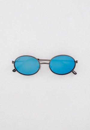 Очки солнцезащитные Ray Flector RF0804, с поляризационными линзами. Цвет: серый