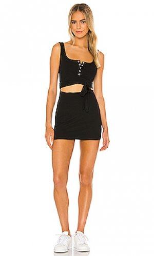 Платье cecile Privacy Please. Цвет: черный